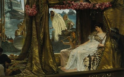 Painting of Cleopatra