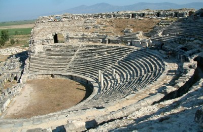 Theatre in Miletus, Turkey