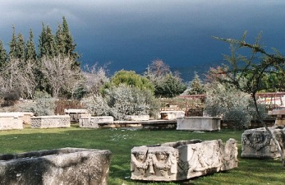 Ruins in Aphrodisias, Turkey
