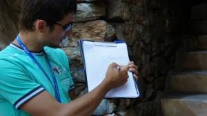 Tour guide Oktay