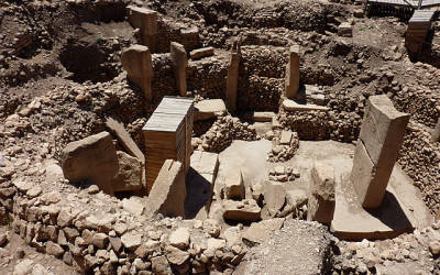 Gobeklitepe excavation site