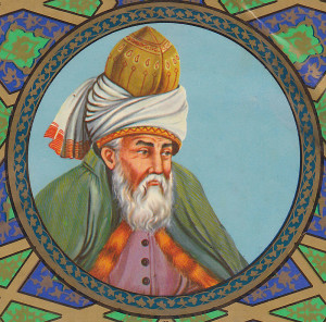 Painting of Rumi