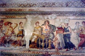 Mosaic Wedding Dionysus and Ariadne