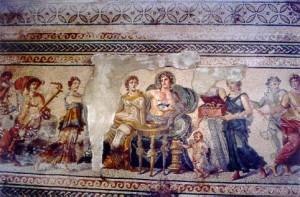Mosaic Wedding Dionysus and Ariadne