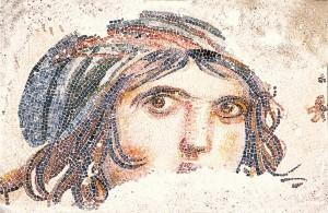 Zeugma Gypsy Girl Mosaic