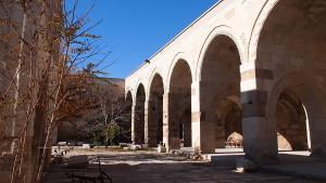 Sultanhani Caravanserai courtyard